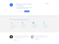 Daily UI 100 Redesign daily ui lp