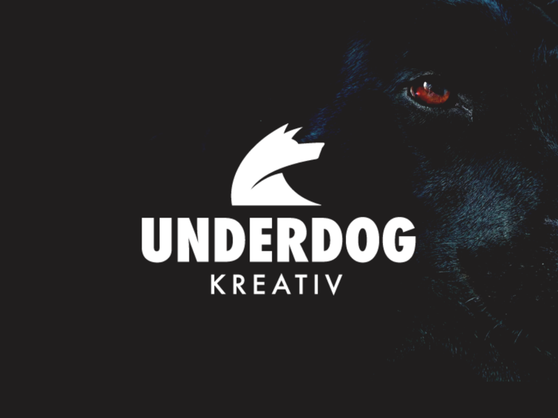 Underdog Dribbble Logo Reveal agency creative identity logo