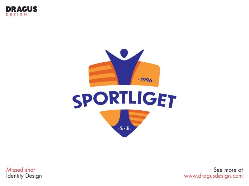 Missed Shot for a sports club sports branding branding sport graphicdesign logodesign identity logo