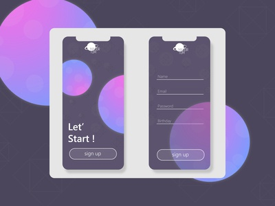 Sign Up #001  Daily UI