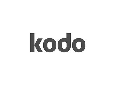 New Kodo branding branding logo web webdesign animation