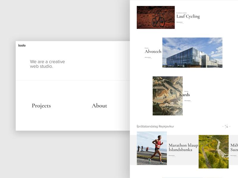 Kodo Creative Web Studio marketing site web development experience web ux website web design agency ui webdesign