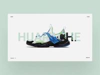 Huarache Website Design