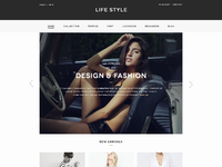 Lifestyle homepage