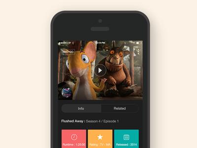 HBO Concept App
