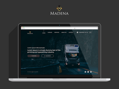Madena Website Redesign webdesign uxdesign ux uiux uidesign ui sketch experience design adobexd