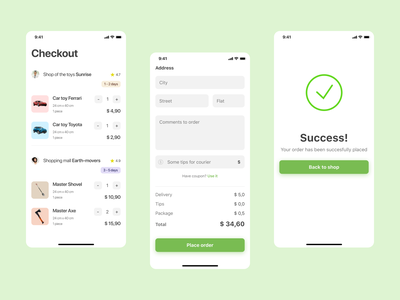 Checkout ui design stores store shop human interface ios order green mobile design mobile app mobile app design mobile ui checkout mobile minimal figma ux ui design