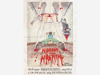 Horror In The Hospital Poster
