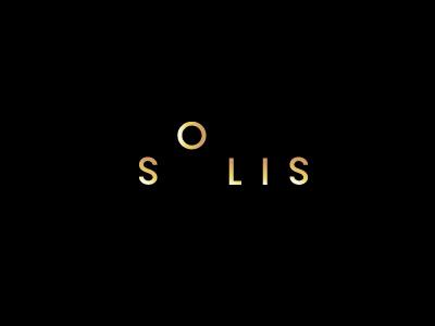 Solis logos logotypes logo typography foil sandgrain colorplan fashion sun