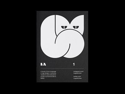 LogoArchive Issue 1 marque symbol identity print minimalist modernist design branding logos logo
