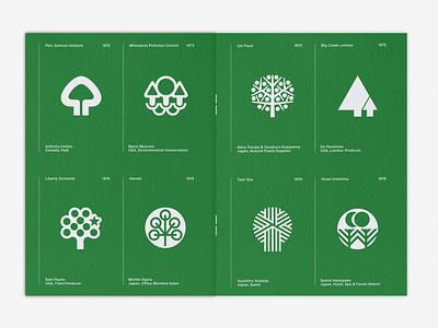 LogoArchive Issue 6 print design colorplan print zine symbol identity minimalist modernist design branding logos logo