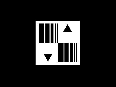 Pencils Logo logomark marque identity minimalist modernist design branding logos logo