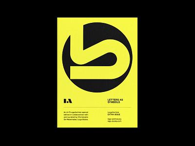 LogoArchive Extra Issue 2 zine logomark monograms marque identity minimalist modernist design branding logos logo