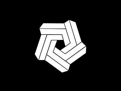 Perpetual Motion Logo logomark symbol marque identity minimalist modernist design branding logos logo