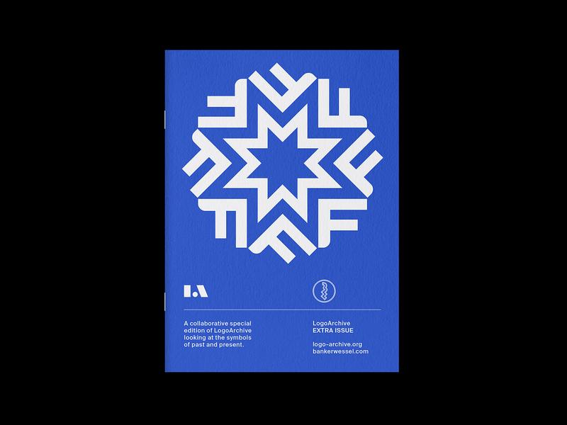 LogoArchive Extra Issue 3 design letters branding logomark symbol printing print zine minimalist modernist logos logo