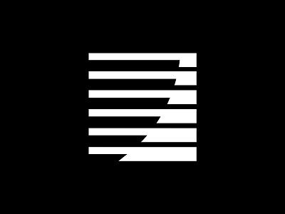 Exponential Curve Logo identity logomark symbol marque minimalist modernist design branding logos logo