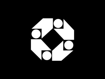 Investment and Reinvestment Logo identity symbol logomark marque minimalist modernist design branding logos logo