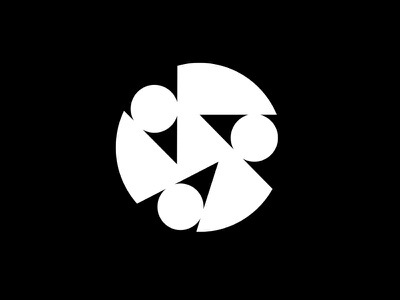 Perpetual Motion / Exponential Logo logomark symbol marque identity minimalist modernist design branding logos logo
