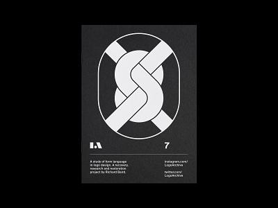 LogoArchive 7 symbol logomark identity minimalist modernist design branding logos logo