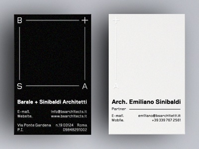 Architecture Business Cards business cards logos architects logo branding print business card duplex white foil monogram emboss logotype