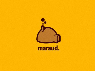 Maraud logo logos branding identity record label music hut skywalker farm