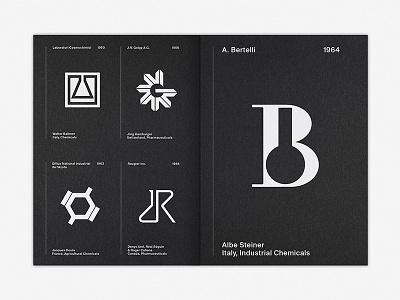 LogoArchive Issue 3 science symbol brochure pamphlet magazine zine print white ink colorplan illustration branding design logo