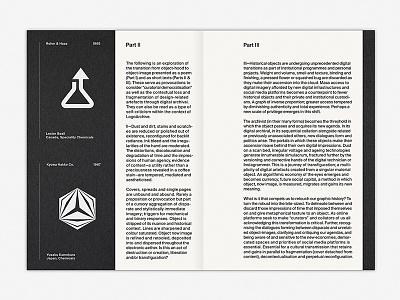 LogoArchive Issue 3 mid-century modernism modernist minimalism minimal symbols colorplan white ink magazine zine print booklet branding symbol logo