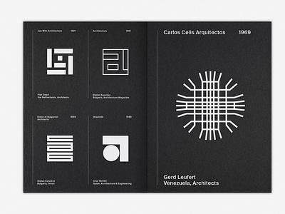 LogoArchive Issue 4 white ink print colorplan booklet zine symbol marque identity minimalist modernist design logos branding logo
