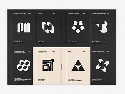 LogoArchive Issue 5 colorplan graphic design print zine symbol marque identity minimalist modernist design branding logos logo
