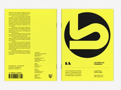 LogoArchive ExtraIssue monograms logomark print marque identity minimalist modernist design branding logos symbol logo