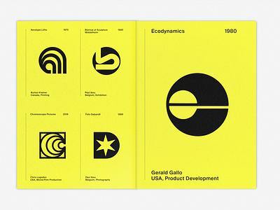 LogoArchive ExtraIssue logomark symbol print marque identity minimalist modernist design branding logos logo