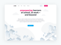Creating a new home for ambi ui web design studio science network work school online learning landing page ambi