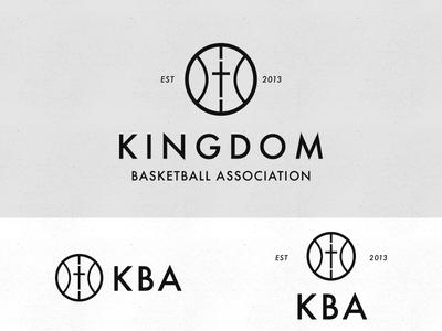 KBA Logo Lockup youth for christ yfc christian logo christian team logo cross kingdom team logo team ministry logo ministry basketball logo