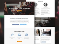 Webinar Landing Pages