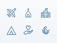 Church & Ministry Icons