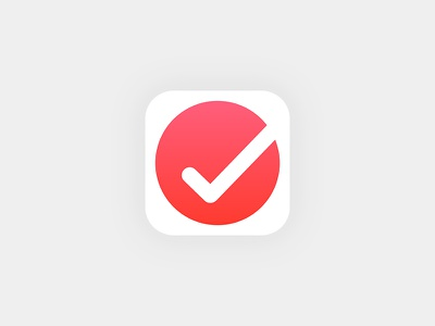 Todo App Icon daily ui ui app design invision studio list app 005 ios iphone 8 ios 11 todo app app icon collect ui