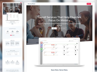 New Payroll Processing Website sem landing pagge payroll church payroll code clean fresh mega church ministries church minstry finance site