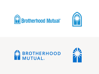 Brotherhood Mutual Logo Refresh branding church logo church ministry ministry logo insurance insurance logo