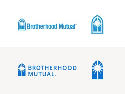 Brotherhood Mutual Logo Refresh branding church logo church ministry ministry logo insurance insurance logo