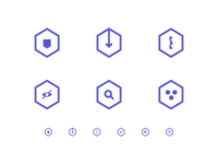 Simple Hex Icons