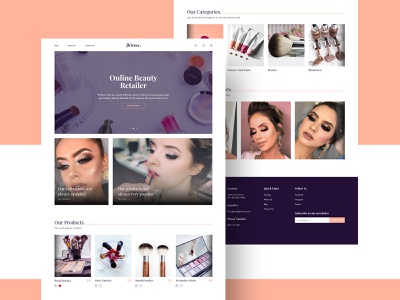 Ecommerce Web UI Design websiteui website adobexd ecommerce dribbble uidesigner uiux ui designer uidesign ux ui ui design design