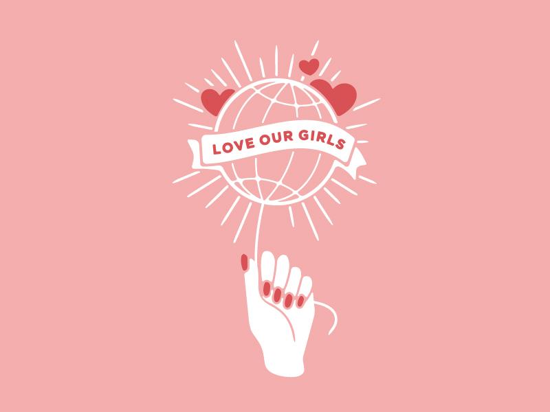 Love Our Girls womens rights danai gurira awareness cause girl woman women love our girls