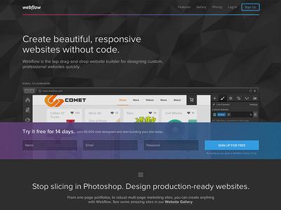Webflow Redesign