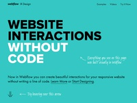 Javascript, CSS Interactions With Zero Coding