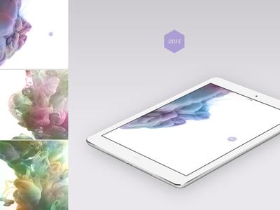 """Freebie: HD iPad Wallpaper """"2014"""""""