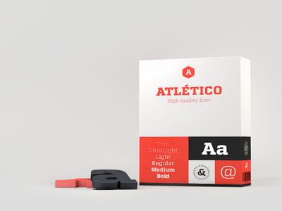 Atlético (Free) Font