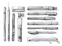 Inktober Sketchs