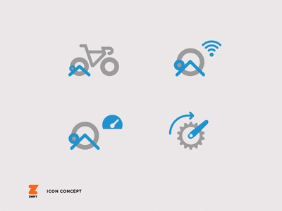 Zwift App - Icons concept app interface ux ui icons sport zwift
