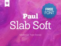(Free Font) Paul Slab Soft