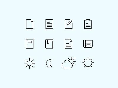 Line Icons Set interface ux ui webdesign lineicons icons line